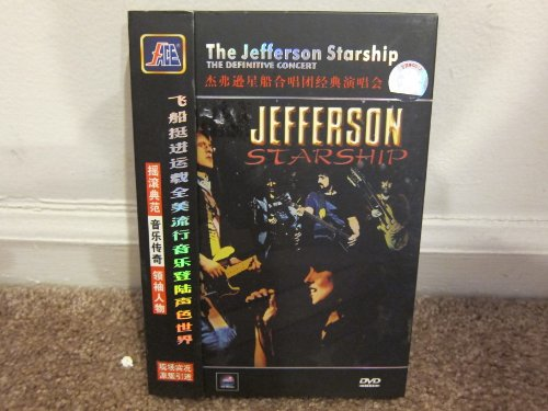 The Jefferson Starship - The Definitive Collection [Region 0 Asian Import]