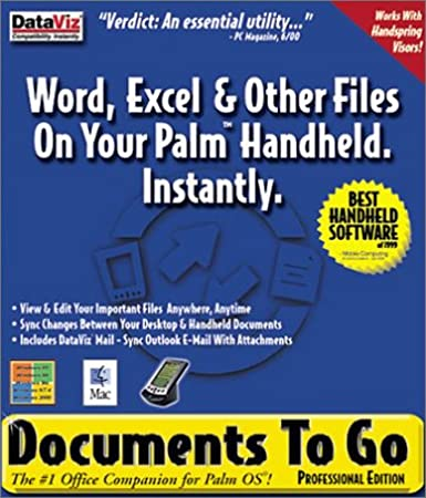 Documents to Go Professional 3.0 DVD Package.