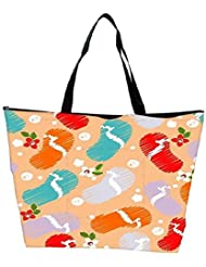 Snoogg Abstract Summer Background Waterproof Bag Made Of High Strength Nylon - B01I1KMDDW