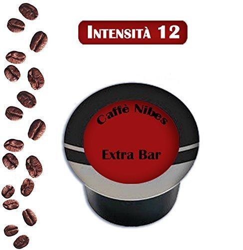 100 Capsule Lavazza A Modo mio compatibili Intenso Extra Bar Caffè Nibes