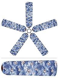 Fan Blade Designs DL-G2YK-O224 Ceiling Fan Blade Covers, Lullaby