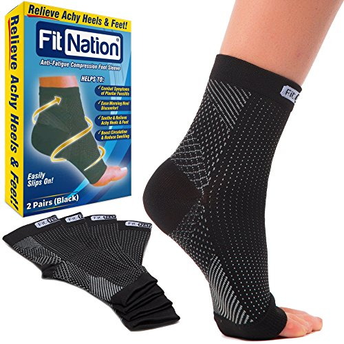 plantar-fasciitis-socks-black-l-xl