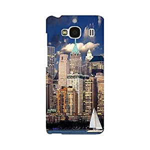 Digi Fashion Designer Back Cover with direct 3D sublimation printing for Xiaomi Redmi 2