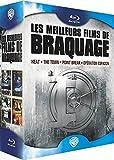 Image de Les Meilleurs films de braquage - Heat + The Town + Point Break + Opération Espadon [Blu-ray]