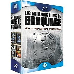 Les Meilleurs films de braquage - Heat + The Town + Point Break + Opération Espadon [Blu-ray]