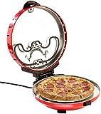 Rosenstein & Söhne Pizza-Maker mit Timer und Steinofenplatte