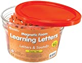 Learning Resources Letters and Sounds Phase Two Magnetic Foam Letters