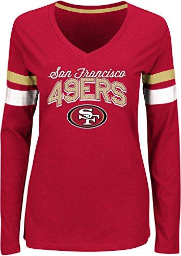 49ers Long Sleeve Shirt, San Francisco 49ers Long Sleeve Shirt ...