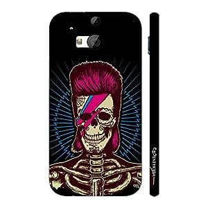 Enthopia Designer Hardshell Case Punk Skull Back Cover for HTC One M8