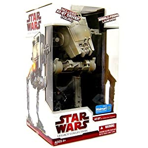 Amazon.com: Star wars Legacy AT-ST Wal-Mart Exclusive: Toys & Games
