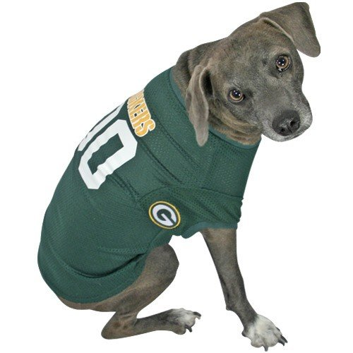 Hunter MFG Green Bay Packers Dog Jersey, Small