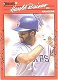 1990 Donruss # 402 Harold Baines Texas Rangers Baseball Card
