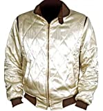 Drive Movie Scorpion Satin jacket with scorpion at back. Golden Color Jacket