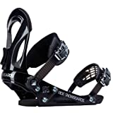 Ride EX Snowboard Bindings, Black - X-Large