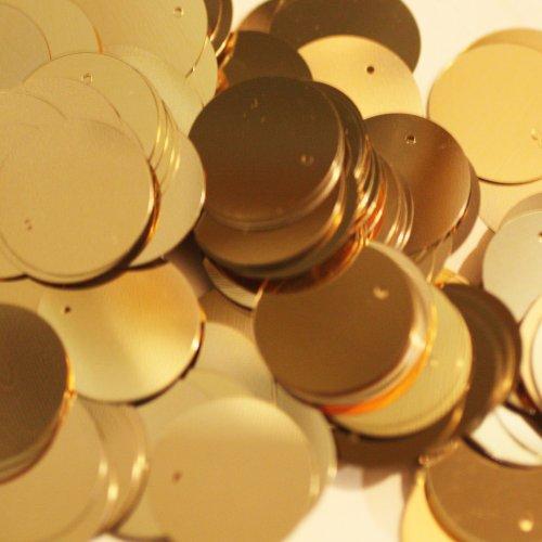 Darice Craft Designer Sequins - 20mm Gold Paillettes