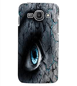 ColourCraft Scary Eyes Design Back Case Cover for SAMSUNG GALAXY ACE 3 3G S7270