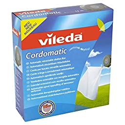 1 X Vileda VIL102811 Cordomatic In And out Line 15metre [Kitchen & Home] by Country