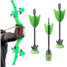 Generic Zing Air Storm Z-Curve Bow Soft Suction Cup Arrows,Children Kids Outdoor Sport Toys Bow & Arrow With Refills...