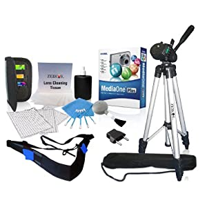 Zeikos ZE-DK111 11-in-1 Digital & Video Starter Kit (Black)