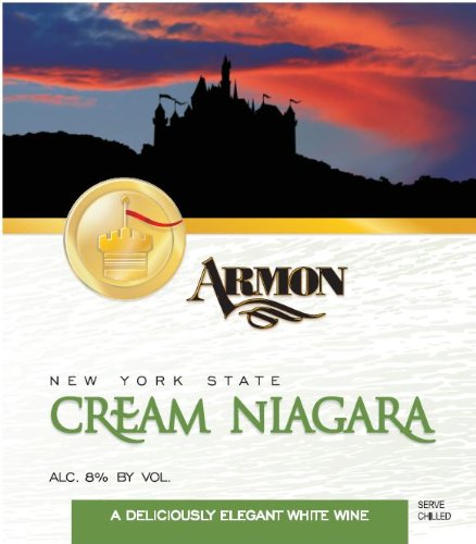 Nv Armon Cream Niagara New York White Wine 1.5 L