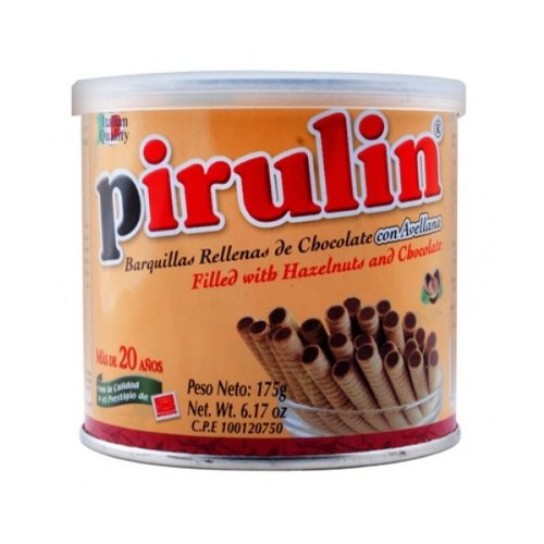 Pirulin - Rolled Wafer Filled with Hazelnut Chocolate (Venezuelan Food compare prices)