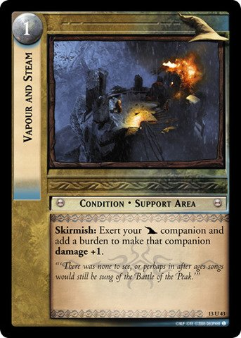 Lord of the Rings TCG - Vapour and Steam - Bloodlines (Vapour Steam compare prices)