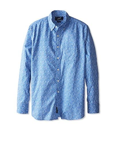 Grayers Men's Printed Poplin Shirt