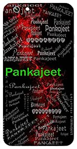 Pankajeet (Eagle ( Garuda )) Name & Sign Printed All over customize & Personalized!! Protective back cover for your Smart Phone : Samsung Galaxy A-5