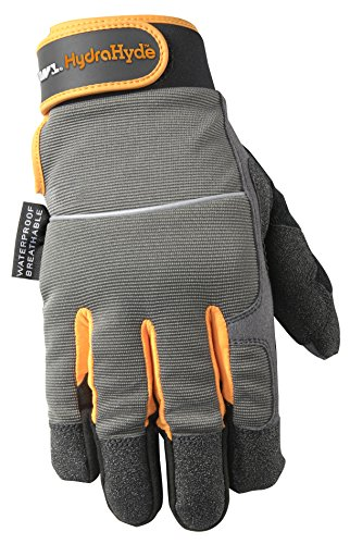 Wells Lamont Synthetic Leather Gloves, Insulated, Cold Weather, HydraHyde, Medium (7739M) (Mechanix Insulated Gloves Medium compare prices)