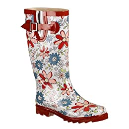 Allison Floral Rain Boots - Multicolor : Target from target.com