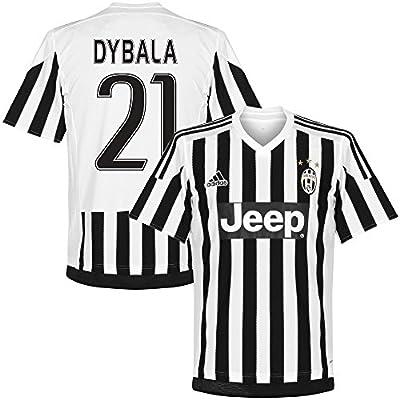 Juventus Home Dybala Jersey 2015 / 2016 (Fan Style Printing)