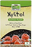 NOW Pure Xylitol Packets, 75/2g Packet (5.39oz, 153g)