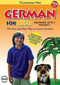 German for Kids: Learn German Beginner Level 1 Vol. 1
