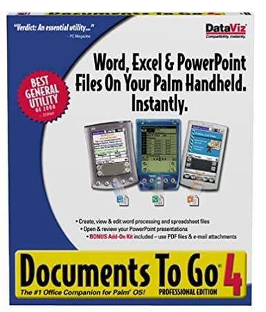 Documents to Go 4 Professional Edition