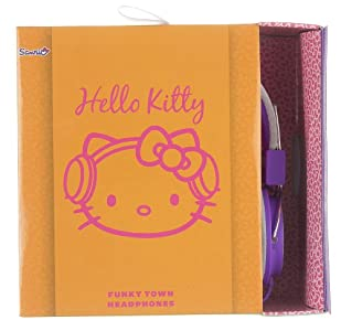 Cheapest price for  Hello Kitty Folding Over-Ear Headphones Compatible