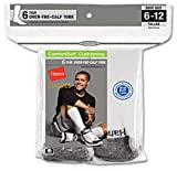 Hanes Classics Men's 6 pack Over the Calf Tube Sock
