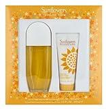 Elizabeth Arden Sunflowers Gift Set Eau De Toilette 100ml and Body Lotion 100ml