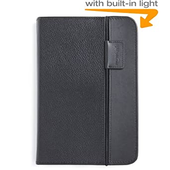 Kindle Lighted Leather Cover, Black (Fits Kindle Keyboard)