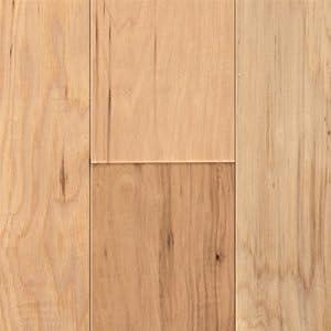 Handscraped Natural Hickory Hardwood Flooring Sample