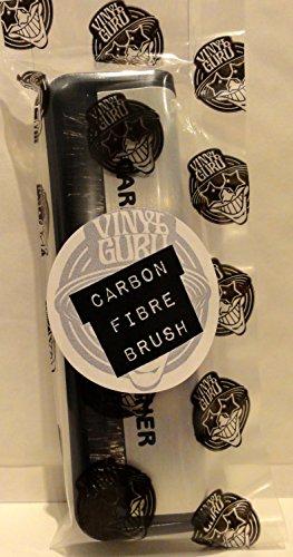Vinyle Guru® antistatique en fibre de carbone Brosse de nettoyage pour disques vinyles en fibre