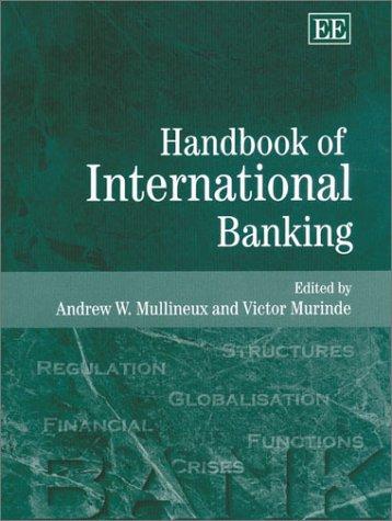 Handbook of International Banking