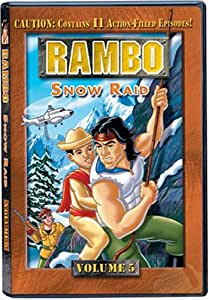 Rambo (Animated Series): Volume 5 - Snow Raid