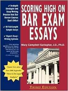 scoring high on bar exam essays amazon