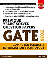 Previous Years Solved Question Papers GATE 2016 Computer Science and Information Technology