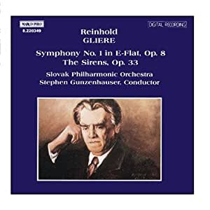 GLIERE: Symphony No. 1 / The Sirens
