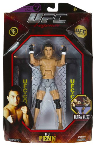 Buy Low Price Jakks Pacific BJ Penn 7.25″ Figure: UFC Ultra-Flex Figure Collection Series #7 [UFC 31] (B004W0NFKQ)