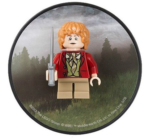 LEGO The Hobbit An Unexpected Journey Bilbo Baggins Magnet - 1