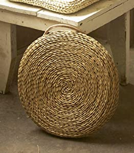 Amazon Com 17 Quot Seagrass Woven Round Cushion Chair Pads