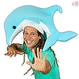 PACK 3 Gorros locos gomaespuma - Delfin