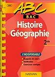 echange, troc Blanchenoix - ABC du bac histoire et géographie, niveau seconde